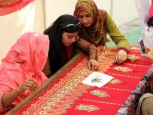 Pakistan's home-based women workers are paid Rs5 per garment