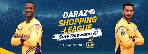 Daraz has partnered with Peshawar Zalmi as their Official e-commerce Partner for the fourth edition of the Pakistan Super League