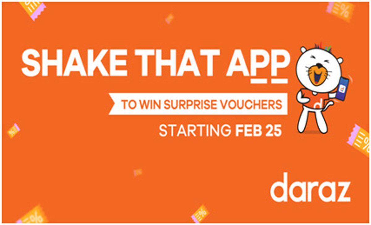 Shake Shake feature joins Daraz App's rich repository of technological innovations