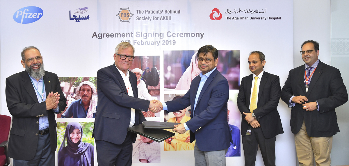 Pfizer Pakistan partnered with AKUH to support needy Cancer Patients through Access Program