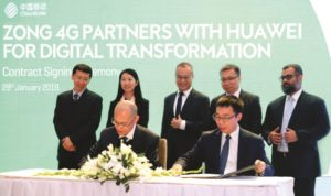 Zong 4G and Huawei Partners to deliver uninterrupted digital transformation connectivity