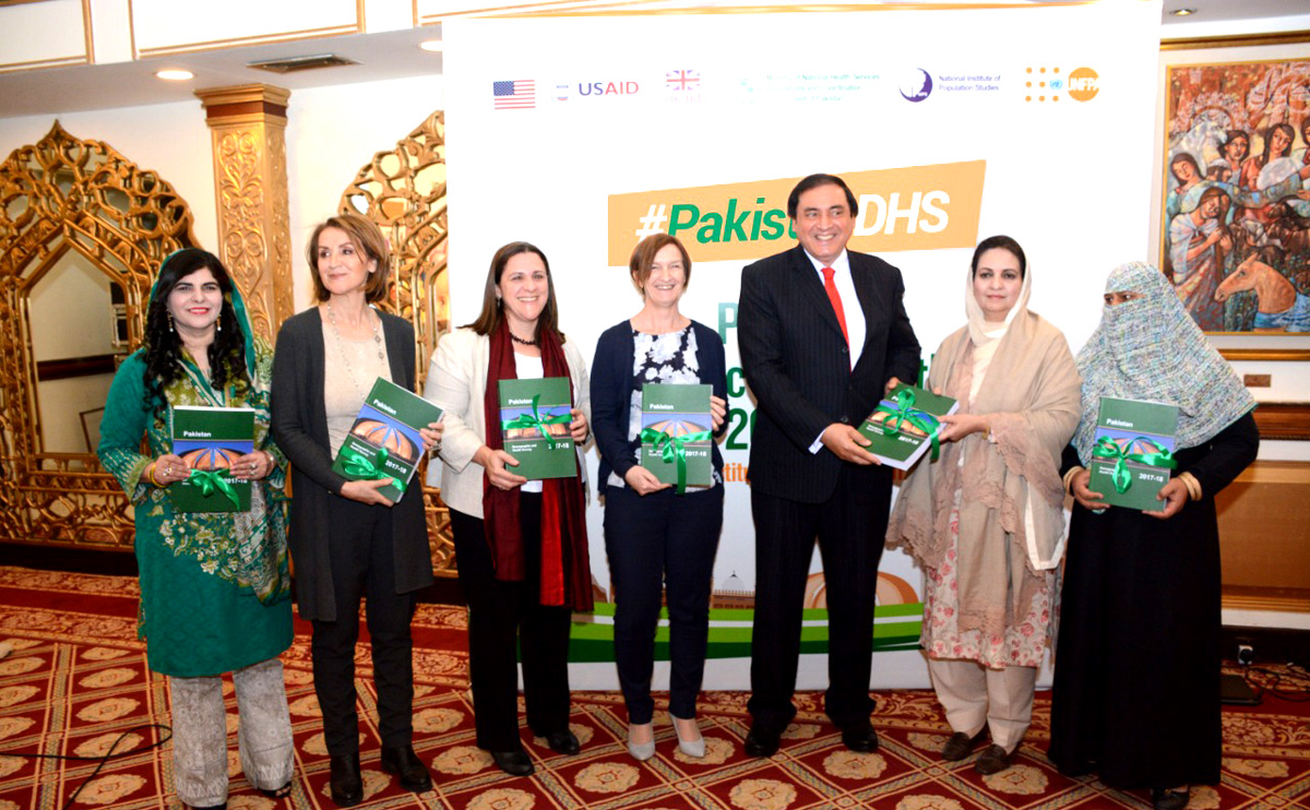 New Survey Shows Improvement in Maternal and Child Health in Pakistan