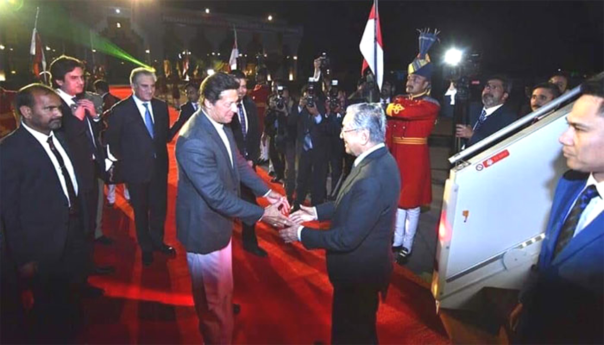 Malaysian Prime Minister Arrives In Islamabad For Three-Day Visit To Pakistan