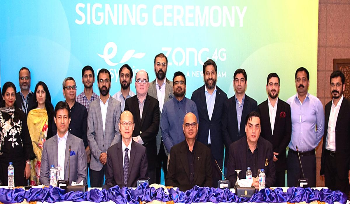 Easypaisa & Zong 4G Join Hands to Provide Direct Integration For a Superior Omni Channel Experience