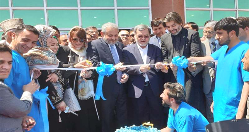 Government of Pakistan Handed Over $24 Million Kabul-Based Jinnah Hospital To Afghan Authorities