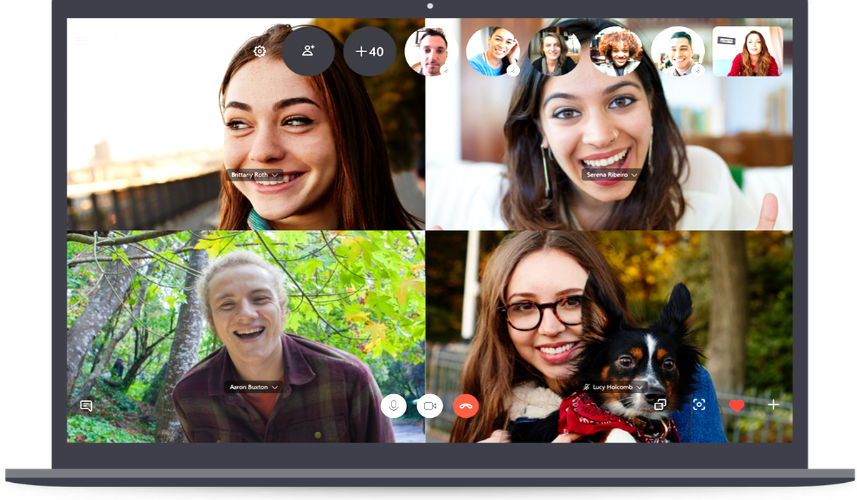 Skype now supports up to 50 group call participants, topping rivals