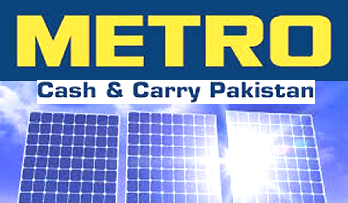 Metro Cash & Carry Pakistan Goes Solar To Help Reduce Carbon Emission