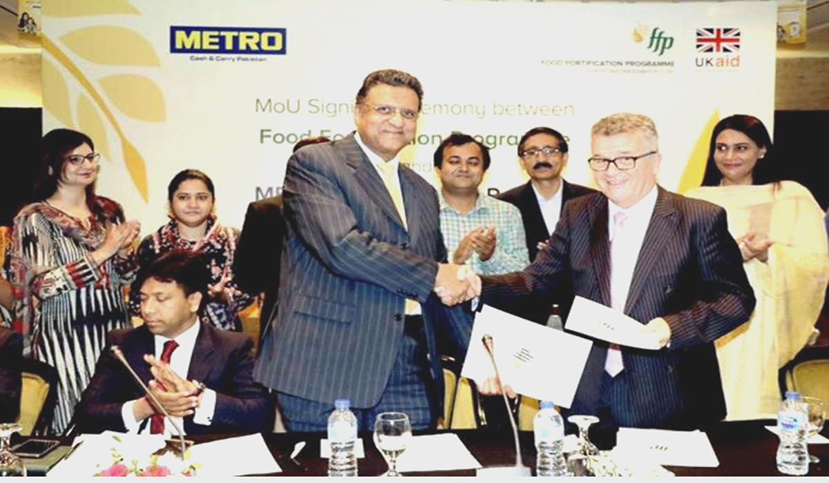 METRO Signs MOU With FFP in Support to Eradicate Malnutrition in Pakistan