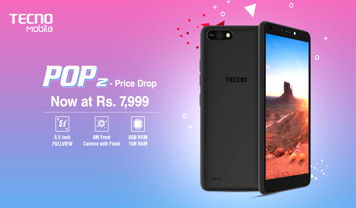 TECNO Mobile Has Reduced The Price Of Its Most Famous Budget Smartphone Pop