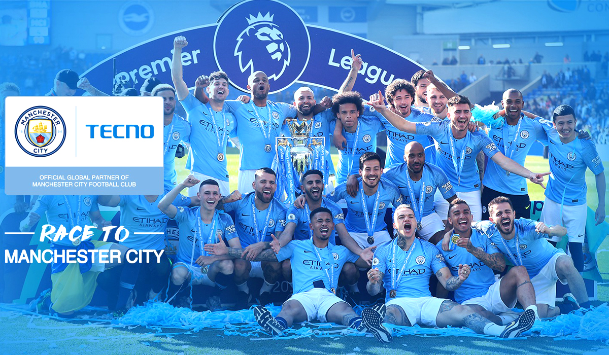 TECNO Gives its Users The Chance To Win a Trip To Abu Dhabi and Meet The Manchester City Football Club