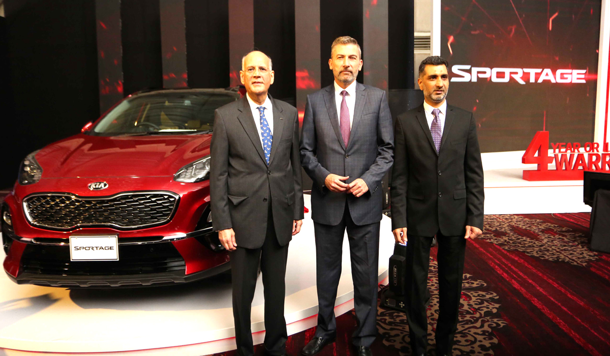 KIA Lucky Introduces Sportage-First-Ever All Wheel Vehicle in Pakistan