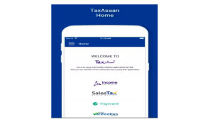 FBR Launches Tax Asaan Smartphone App