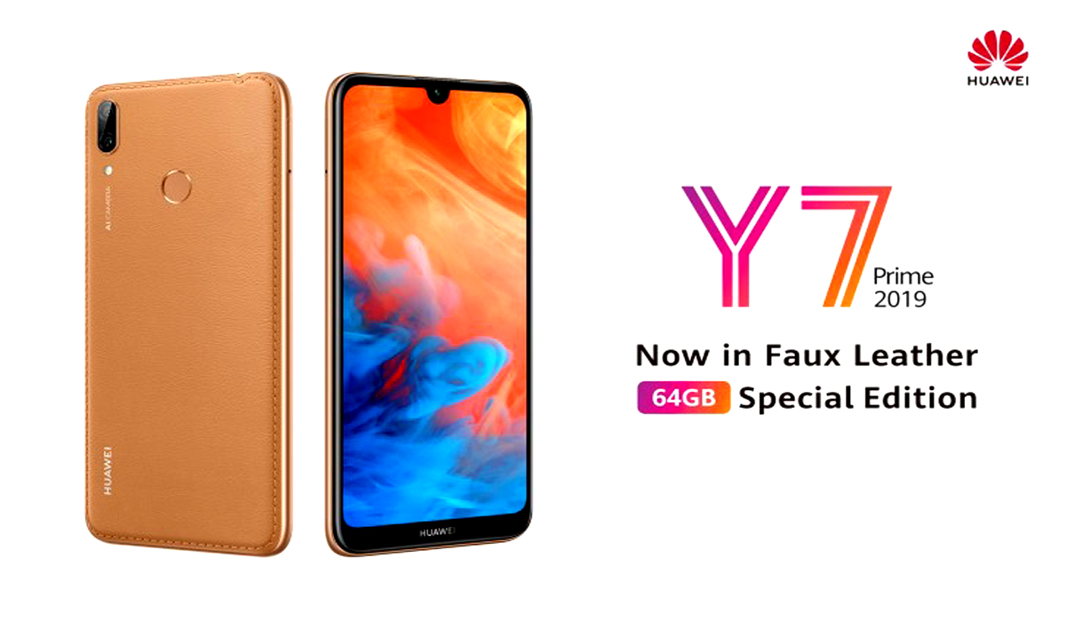 HUAWEI Y7 Prime 2019 Special Edition Goes On Sale Today