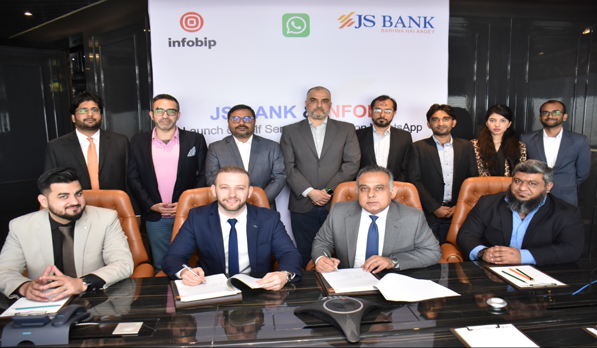 JS Bank Launched 'Self-Service Banking on WhatsApp in Pakistan