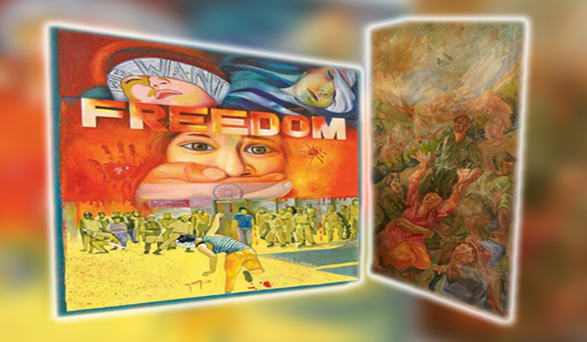 PTCL & MoITT Collaborate With PNCA To Organize Art Exhibition On Kashmir