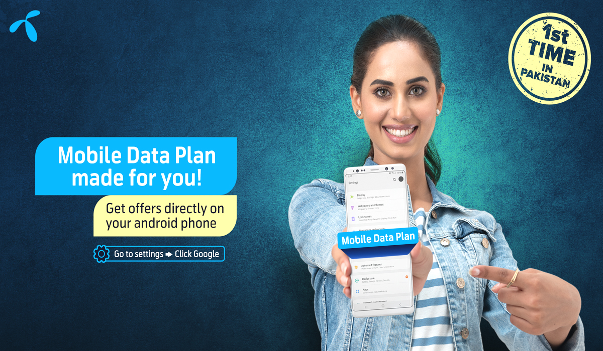 Telenor Becomes First Telco To Launch Mobile Data Plan For Prepaid Android Users In Pakistan
