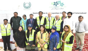 Nestlé Pakistan Continues With its Commitment Of Clean Green Pakistan