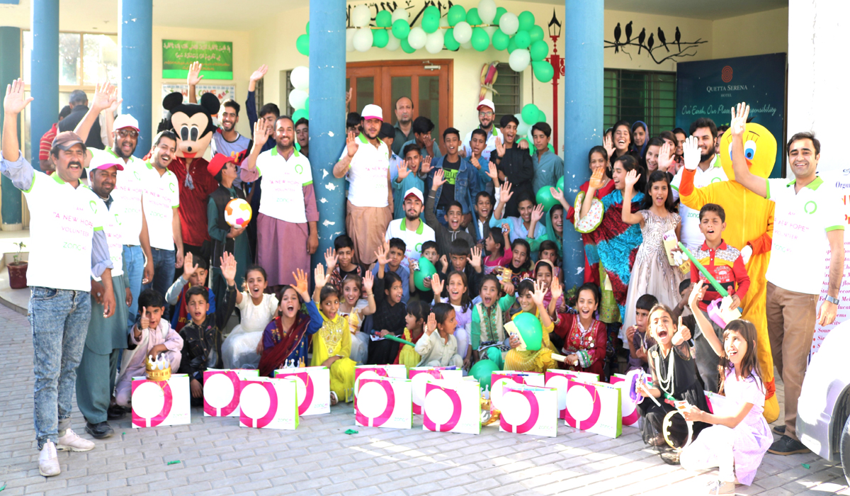 ZONG 4G's New Hope Volunteers Spend a Day at SOS Children's Village in Quetta
