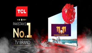 TCL Pakistan  & Daraz.pk  Join Hands For 11.11