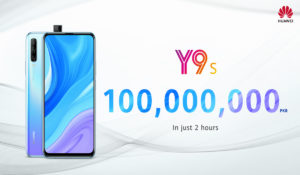 HUAWEI Y9s Breaks Records With Hot Sales Nationwide