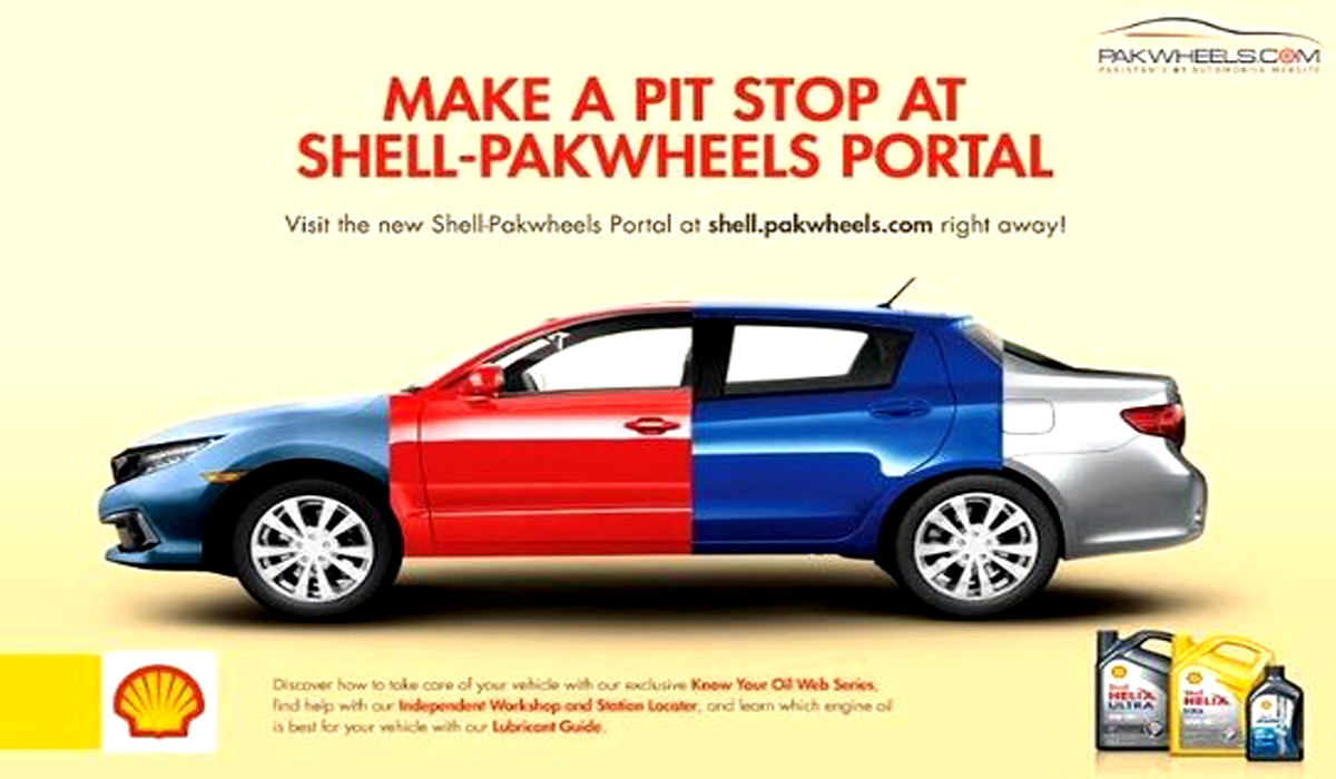Shell Pakistan Collaborates With PakWheels.com To Launch an Exclusive Portal