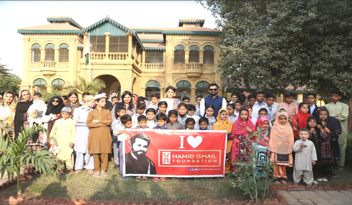 Hamid Ismail Foundation Tree Plantation Drive at Quaid e Azam Residency