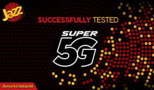 Jazz Successfully Conducts 5G Tests