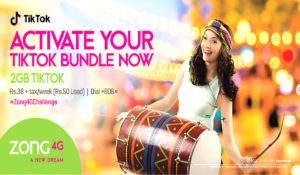 Zong 4G Launched  Weekly TikTok  Bundle Offer