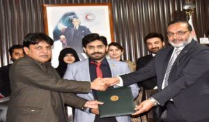 NUST, PRCS  Sign MoU To Boost Humanitarian Cooperation
