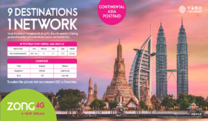 Zong 4G Introduces Asia's Largest Continental Roaming Bundle