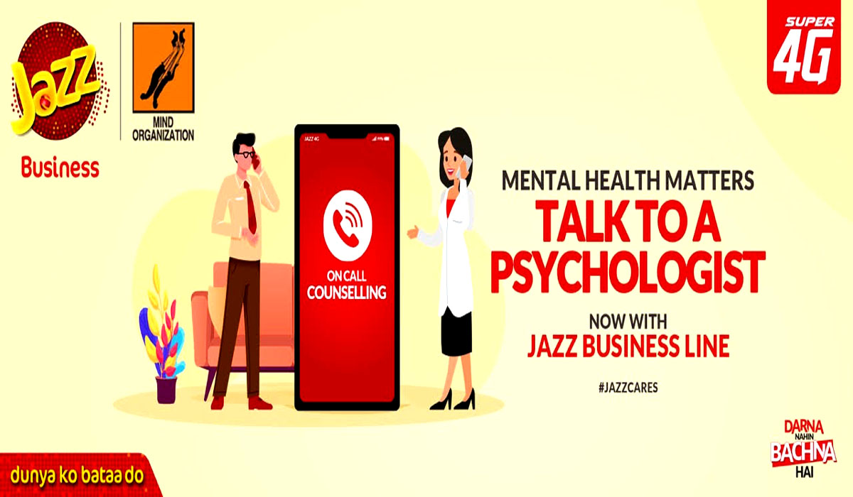 Jazz Business,Mind Organization To launch a COVID-19 Mental Wellbeing helpline, 'ZehniSehatHelpline'