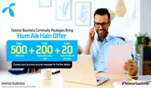 Telenor Pakistan Offers 'Business Continuity Packages' To Support Business Community