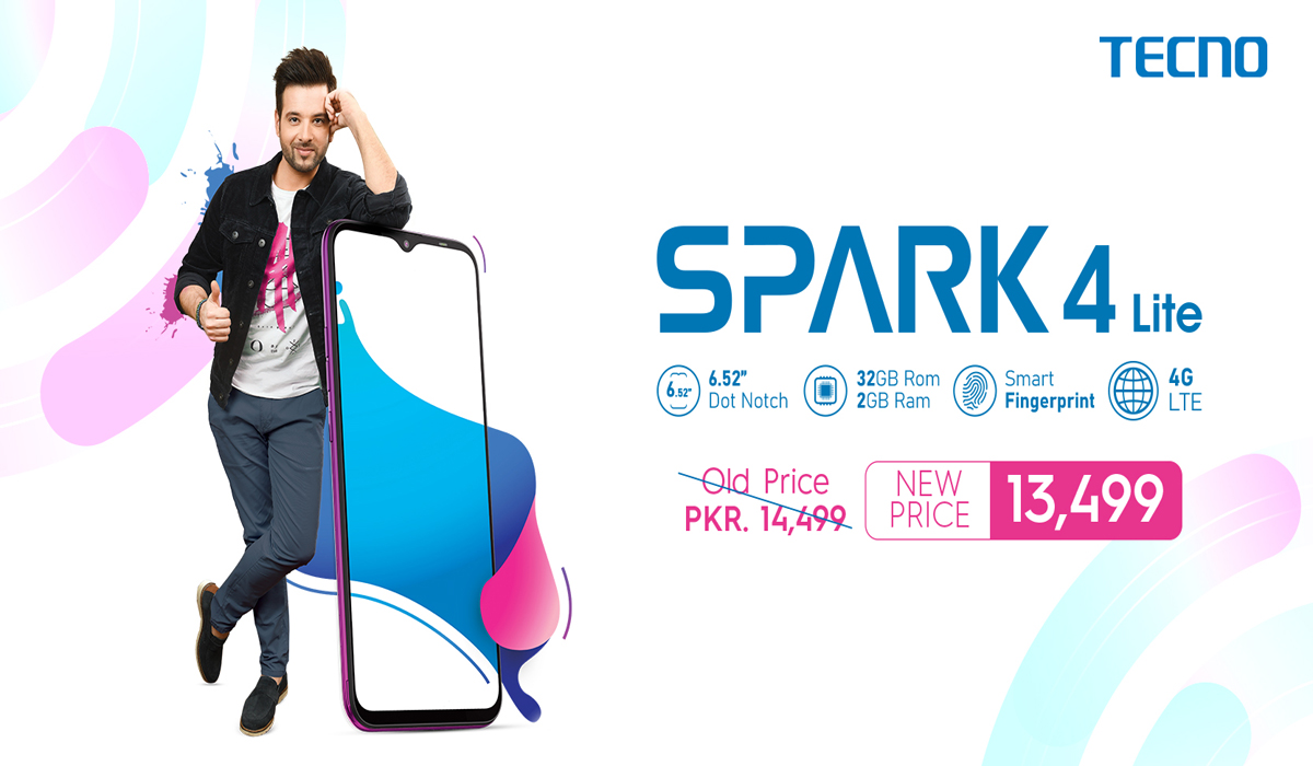 TECNO Spark 4, a Popular Smartphone Now at an Amazing Discounted Price