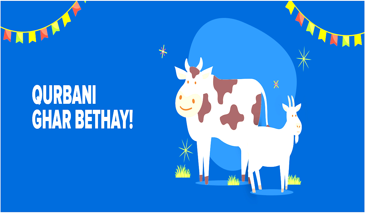 Daraz Offering In Lahore & Karachi Customers a Digital Solution With Qurbani Ghar Bethay