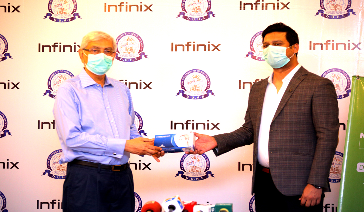 Infinix Joins Hands With DOW to Further the Fight against COVID-19