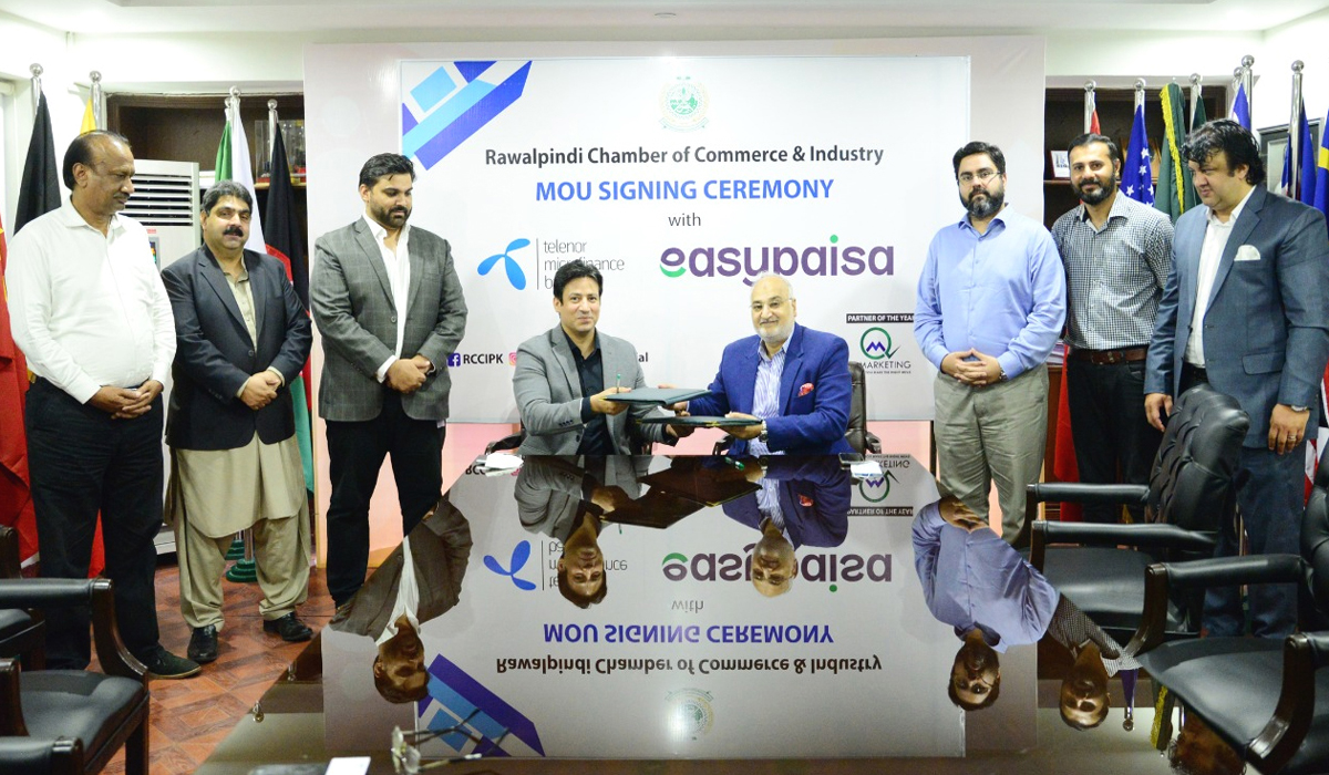 Easypaisa Joins Hands with RCCI To Facilitate Digital Transactions