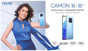 CAMON 16 LAUNCHES IN PAKISTAN UNVEILING THE RELEASE OF DOCUMENTARY FEATURING MEHSWISH HAYAT