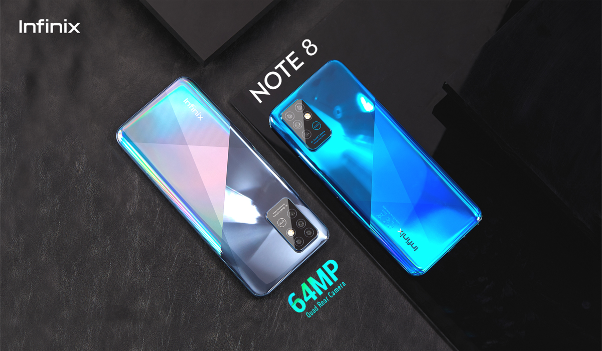 Infinix Note 8 – Re-shaping the 64MP Quad Camera Realm