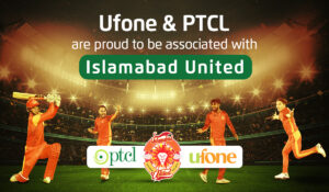 Ufone and PTCL partner with Islamabad United for sixth season of PSL