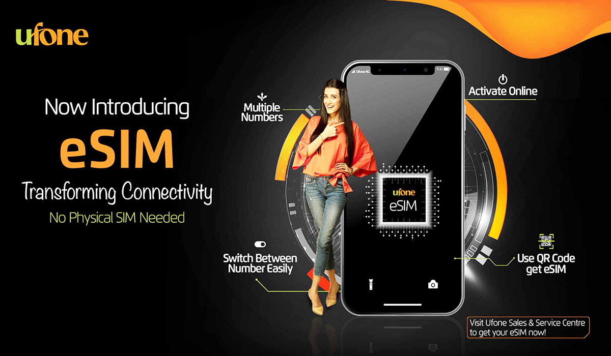 Pakistani Telecom Operator Ufone Launches Its First Ever eSIM