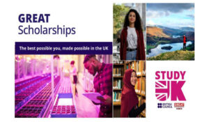 British Council offers GREAT Scholarships for one-year Master's Programme in the UK