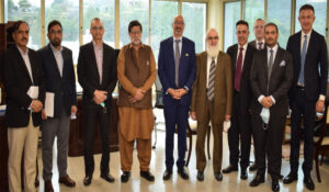 Etisalat Delegation meets key government stakeholders on Telecom Sector & national economic growth