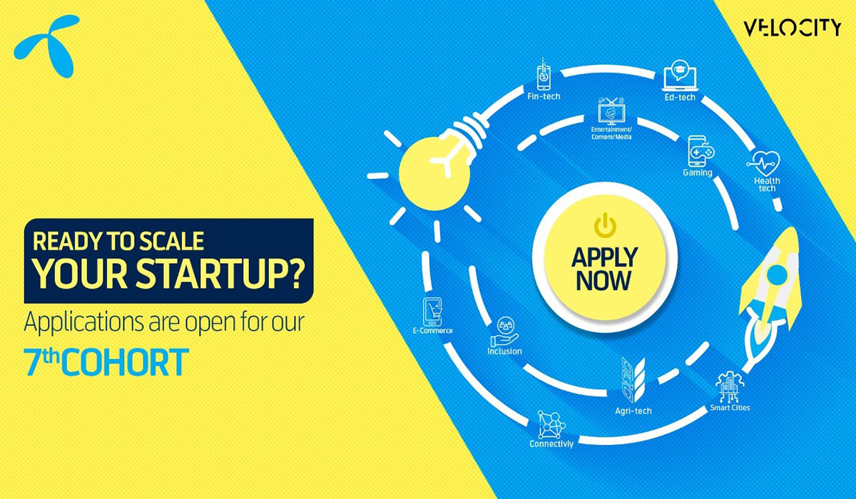 Telenor Velocity invites Start-ups that use technology as an enabler for its 7th Cohort