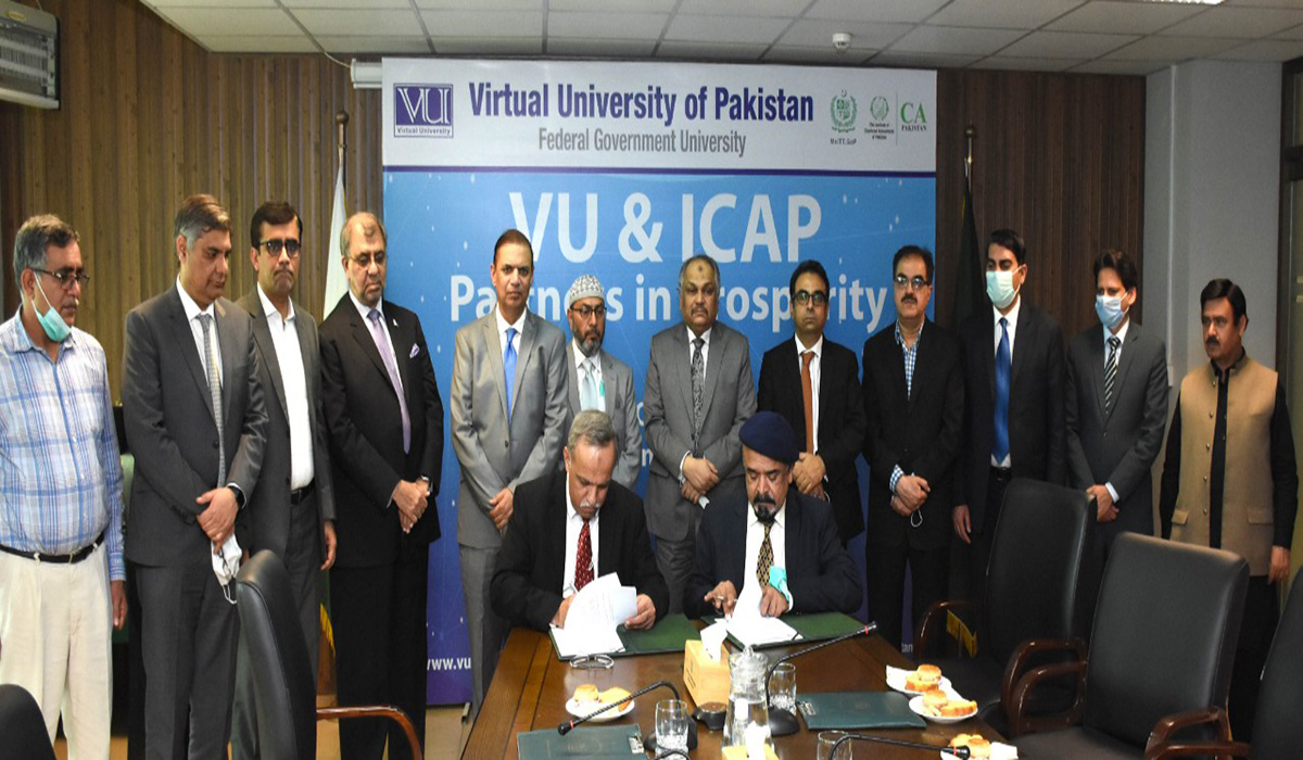 VU to facilitate ICAP for Chartered Accountancy Examination through Electronic Format across Pakistan