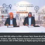 Jaffer Business Systems invests PKR 300 million in ENA, a Green Tech, Power & IoT Startup