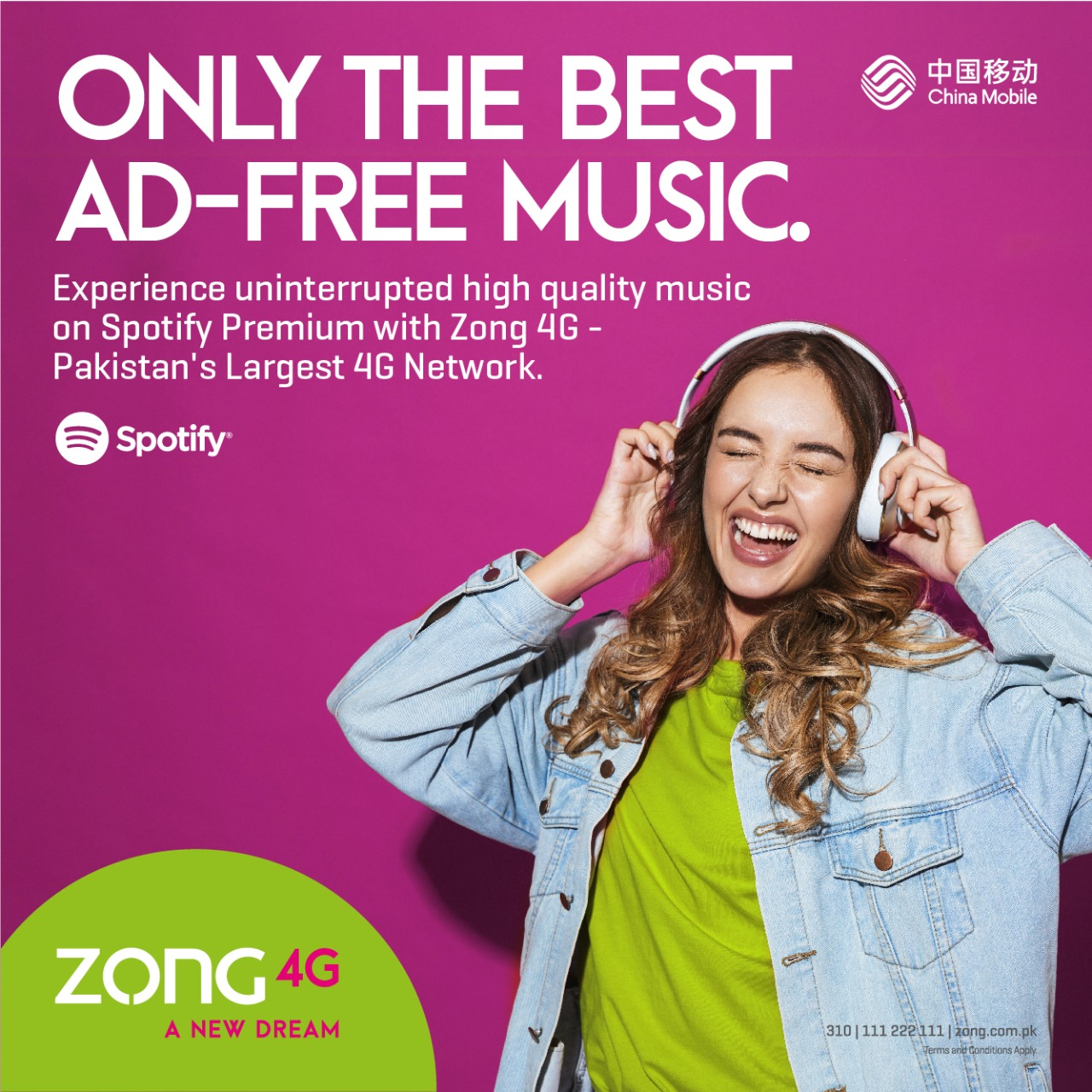 Zong 4G Brings Spotify To Millions of Pakistanis!